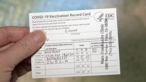 California State Employees Must Show Proof of Vaccination